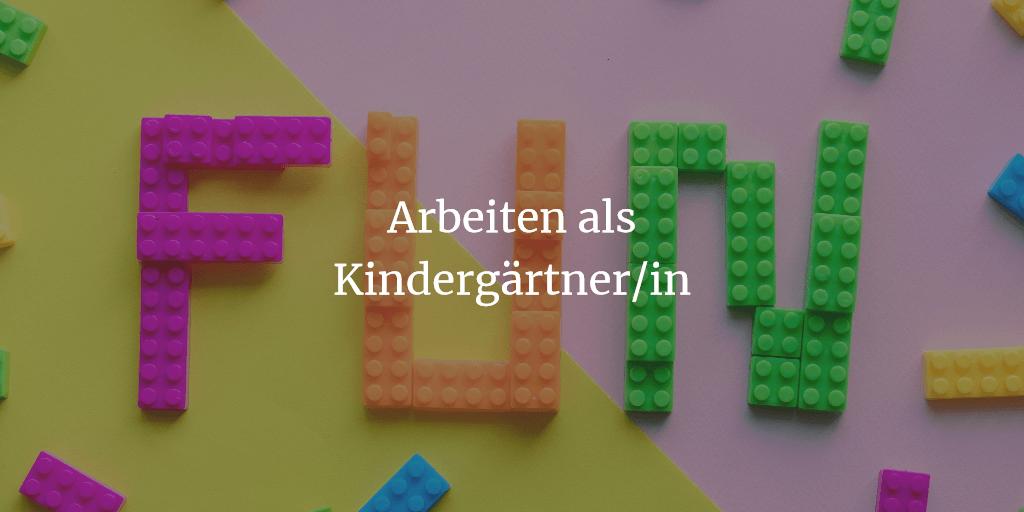 Arbeiten als Kindergärtner/in – das erwartet Dich